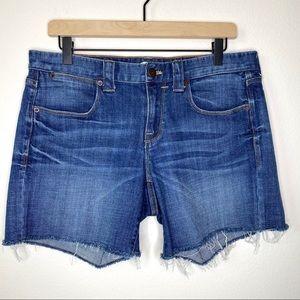 J.Crew Cut Off Stretch Jean Shorts Size 8